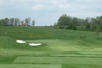 The 11th hole at Coppinwood