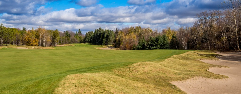 Reachable par-5 11th features a narrow, tricky green